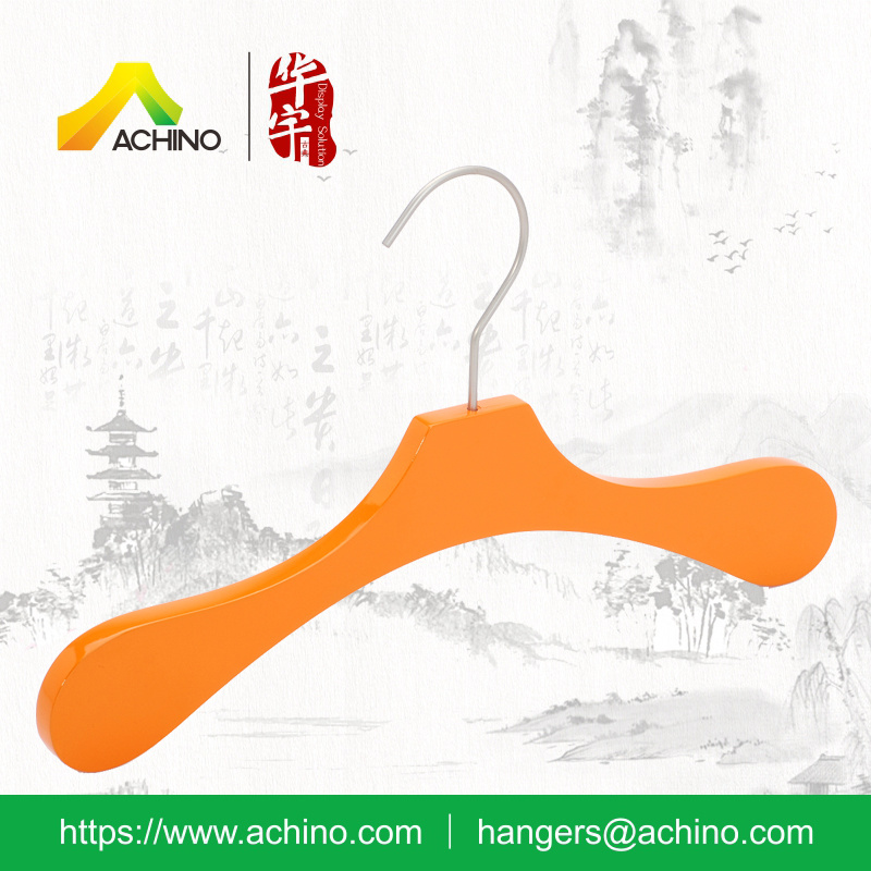 Kids Coat Hanger with Metal Hook (HKT005)
