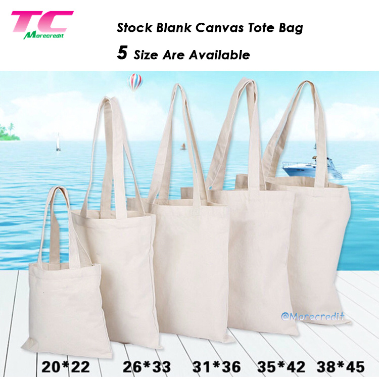 c744ee368d China Promotional Natural Canvas Tote Bag Stock Cotton Groceries Bags  Wholesale Plain Reusable Tote Shopping Bags - China Tote Bag