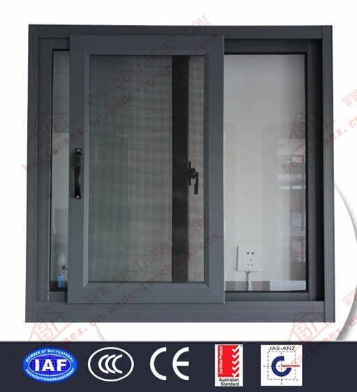 High Quality Aluminium Sliding Window (BHA-SW08) pictures & photos