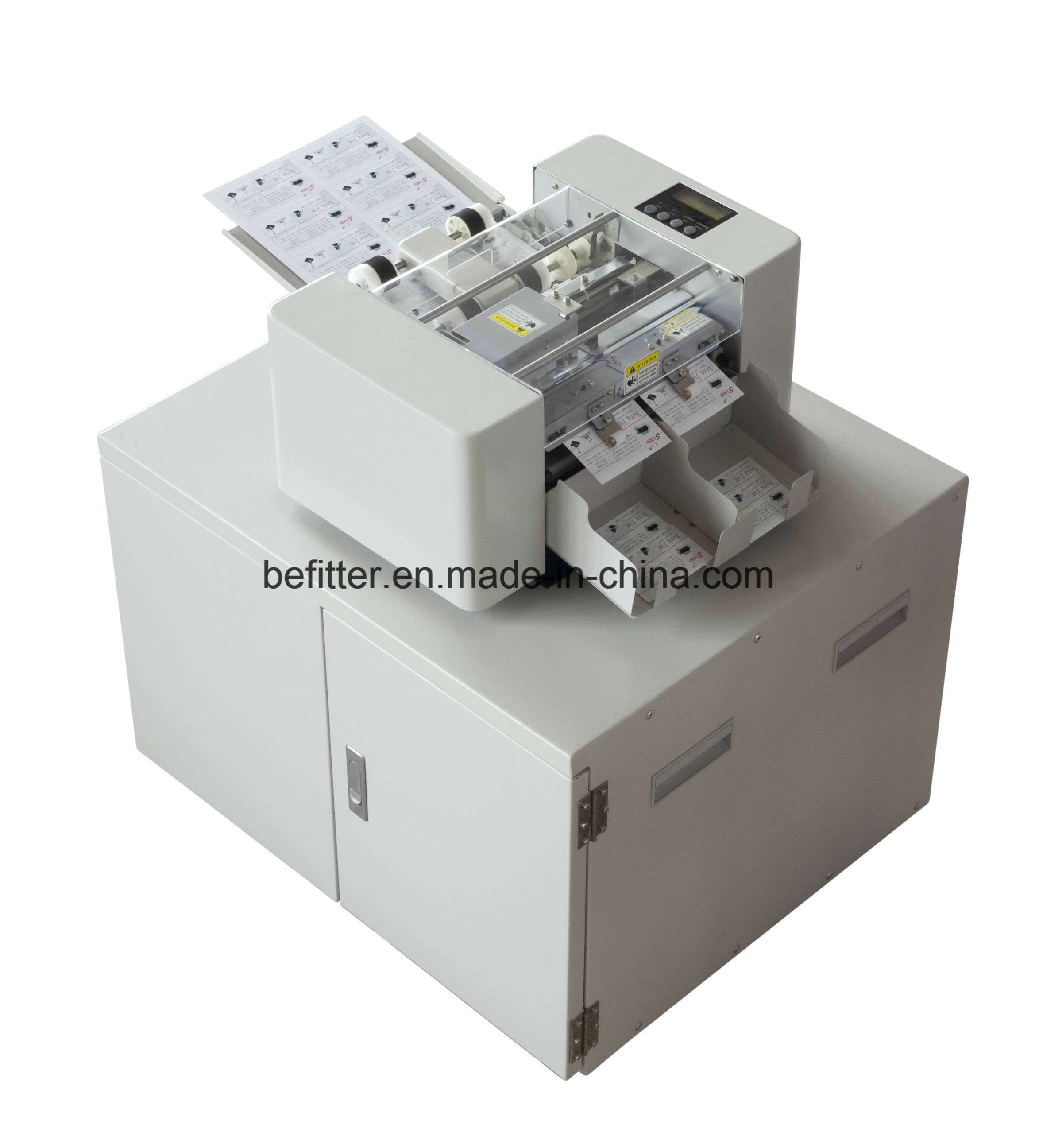 China SSA-001-I A4 automatic business card cutter - China business ...