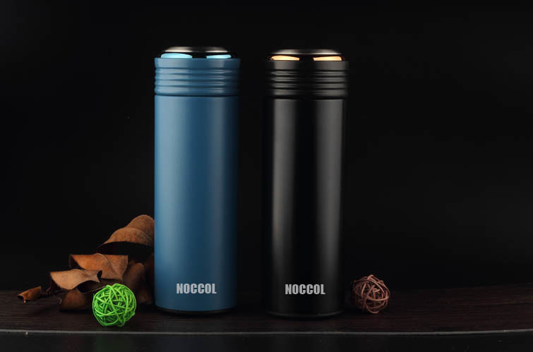 17oz, 500ml Portable Double Wall 18/8 304 Stainless Steel Vacuum Flask Thermos