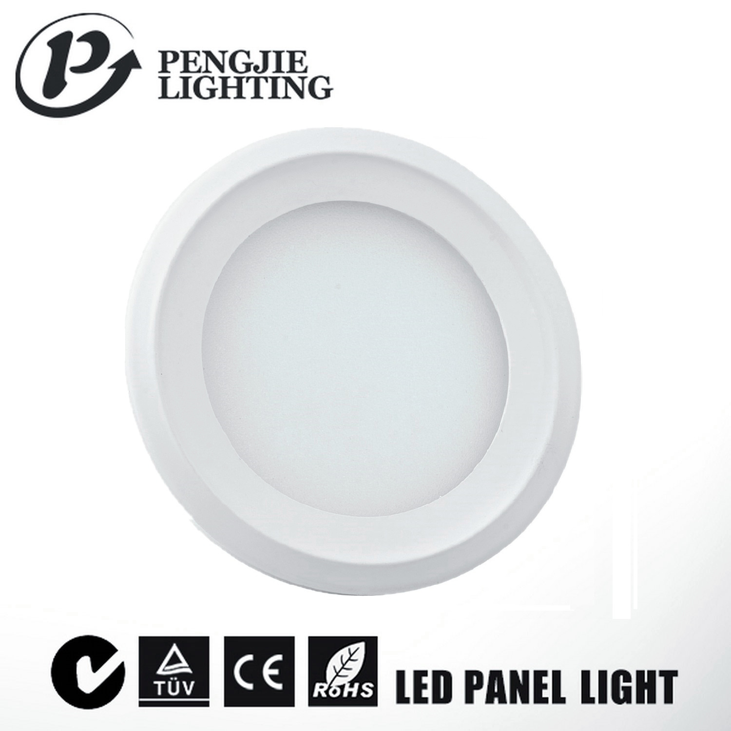 New Design High Lumen 8W Ultra Slim LED Panel Light for Indoor Lighting
