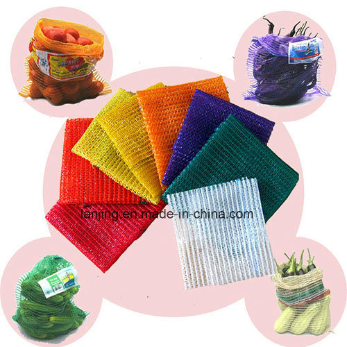 Breathable Woven Bag Mesh Bag for Potato Onion Vegetable Storage and Transportation pictures & photos