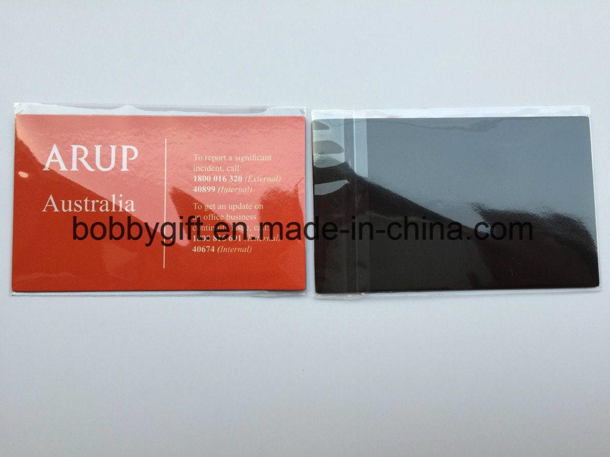 China Custom Magnetic Business Name Card Fridge Magnet for Promotion ...
