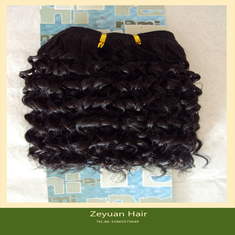 China Jerry Curl Synthetic Hair Weave Synthetic Hair Extensions S