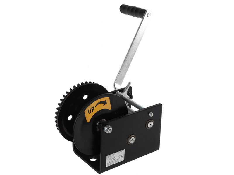 Cable/Strap Optional, Hand Winch (H-3200A)