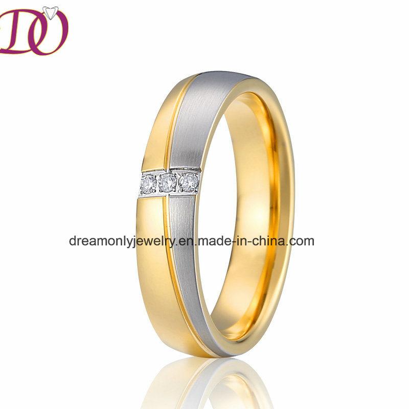 China Ebay New Fashion Hot Sale Wedding Band Ring Stainless Steel