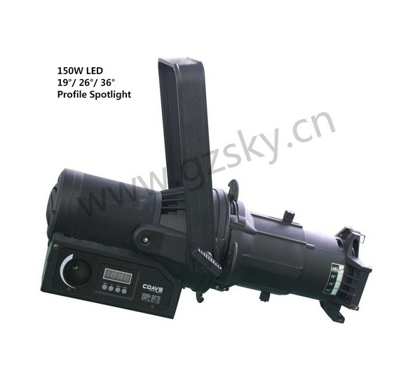 2016 New Item Zoom Profile LED DMX Theater Stage Lighting