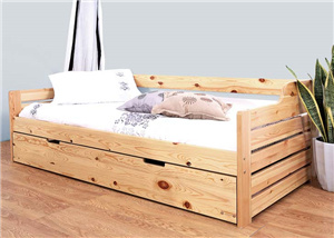 China Modern European Style Pine Wooden Sofa Bed Sd Be 055 China