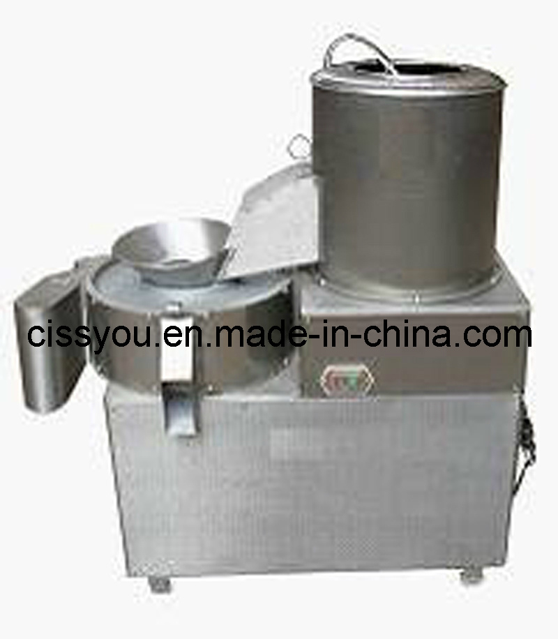 Potato Washing Peeling Cutter Slicer Chips Making Machine (WS) pictures & photos