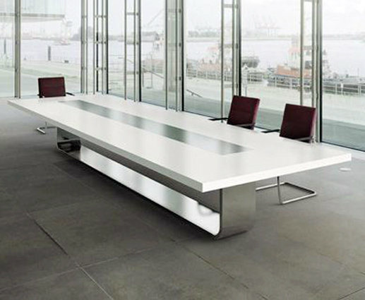 China Famous Design Conference Table Build In Wire Manager Pop - Build a conference table