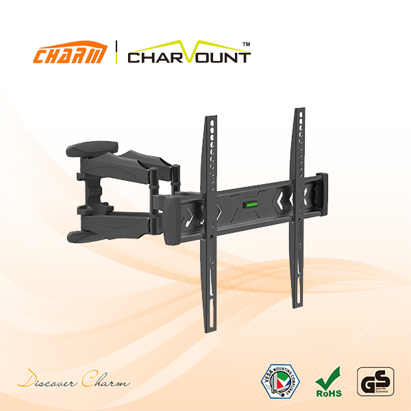 China Full Motion Tv Mount For 26 55 Wholesale Stainless Steel Tv Mount Ct Wplb 2501m China Tv Wall Bracket And Tv Wall Mount Bracket Price