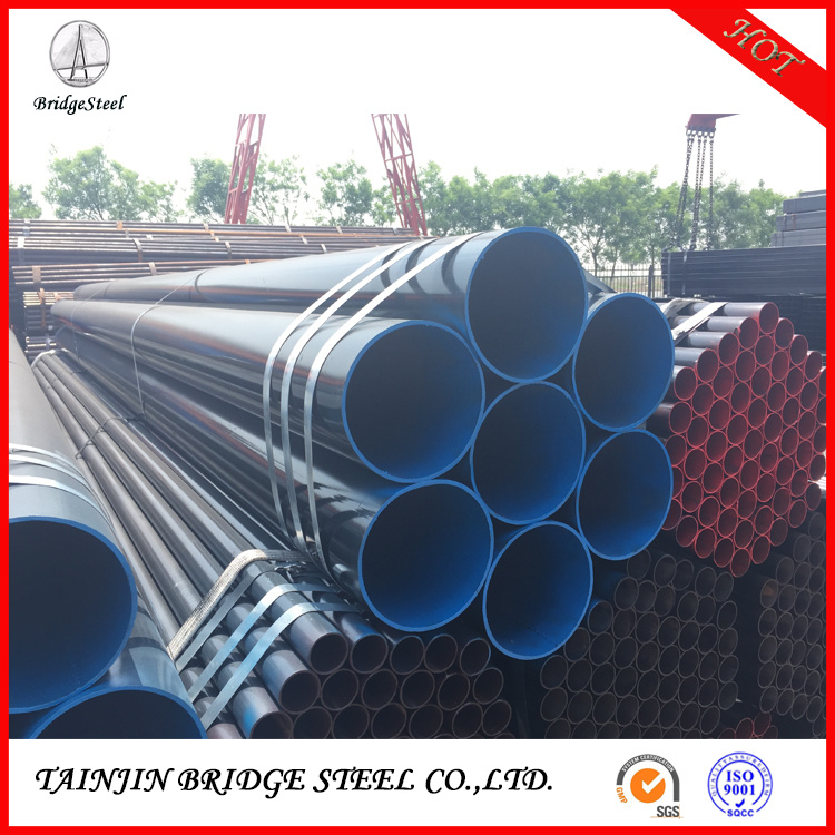 China Ms Round Pipe Chart Of Weight Erw Q235 Welded Steel Tube