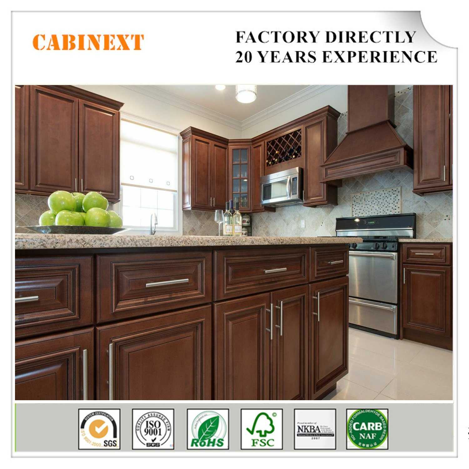 China Mdf Plywood Kitchen Cupboard
