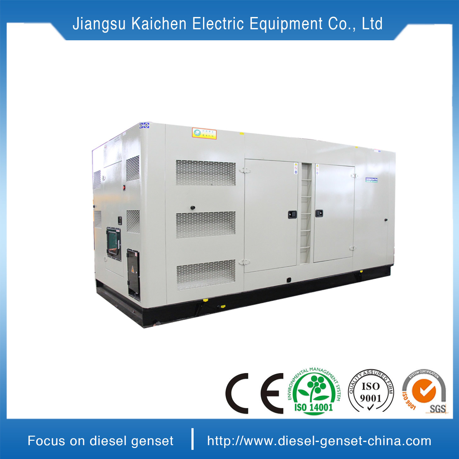 China Soundproof Electric Generator Diesel Generating Power Powering A Generation Electricity By Volvo Penta