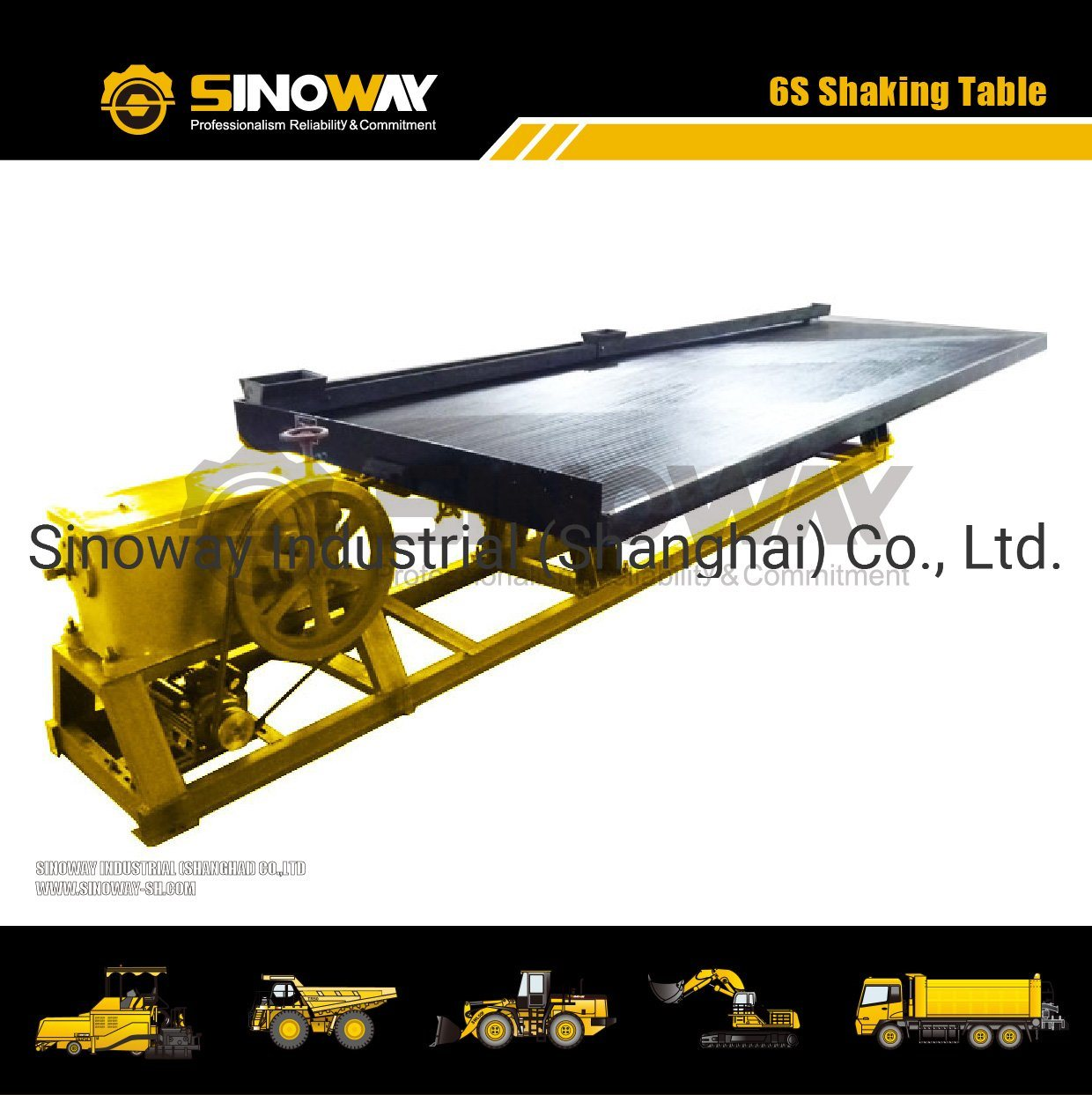 6s Mining Equipment Gold Shaking Table/6s Shaker Table pictures & photos
