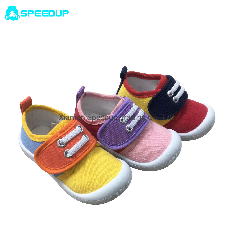 China Velcro Fastened Walking Shoes