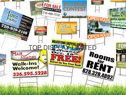 American Popular Custom Real Estate Yard Banner Custom Printed Political Yard Sign