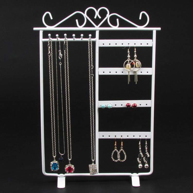 Metal Jewelry Necklace Earring Display