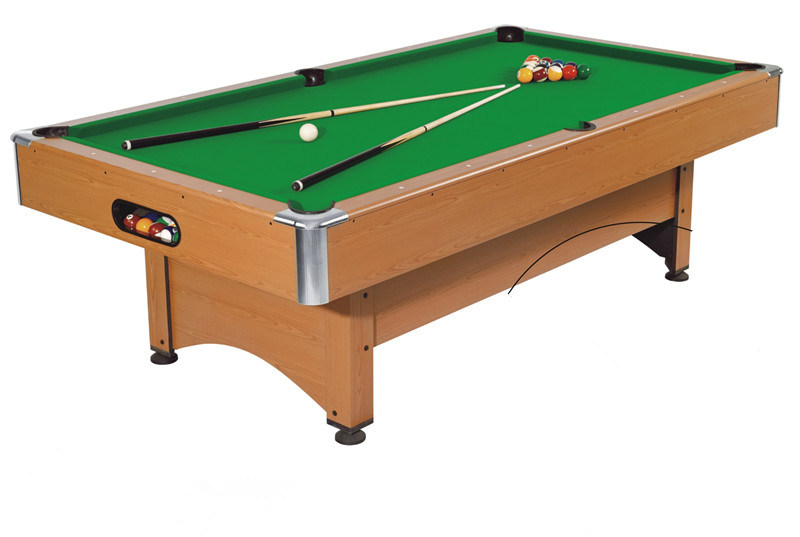 China Hot Saling MDF Pool Table For Sale Adjustable Leg Levelers - Adjustable pool table