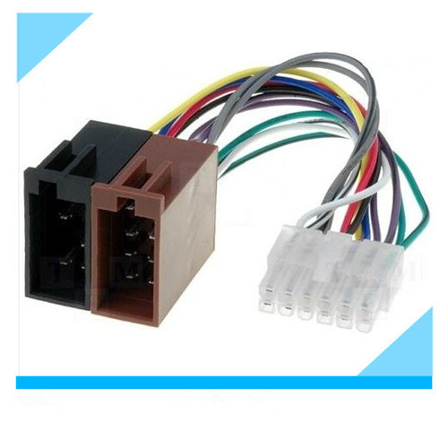 china pioneer car radio stereo 12 pin white iso wiring harness rh starconnect en made in china com