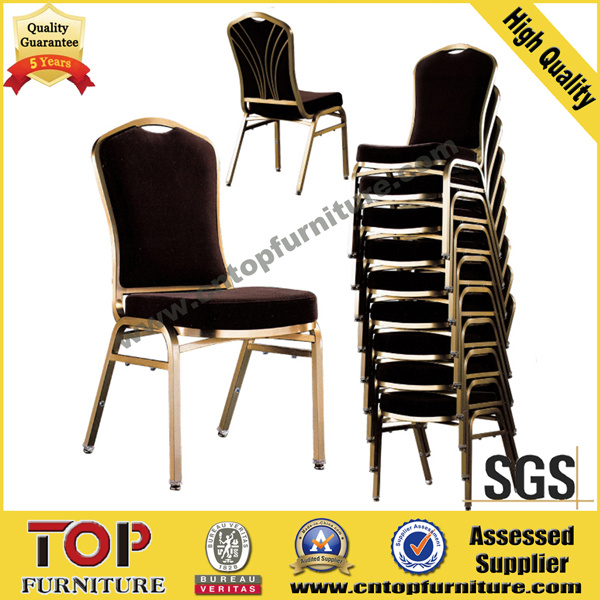 Metal Stackable Back Design Banquet Chair
