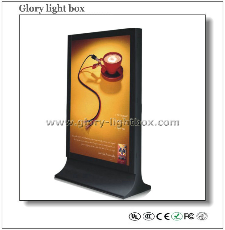Multi Image Double Side Scrolling LED Light Box