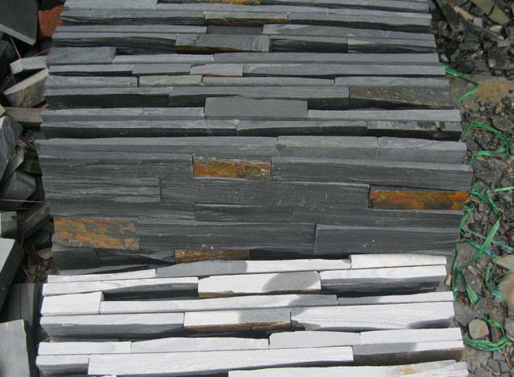 China Natural Slate Culture Stone Wall Panels (SMC-SCP288)