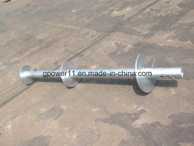 Residential Helical Screw Post Anchor pictures & photos