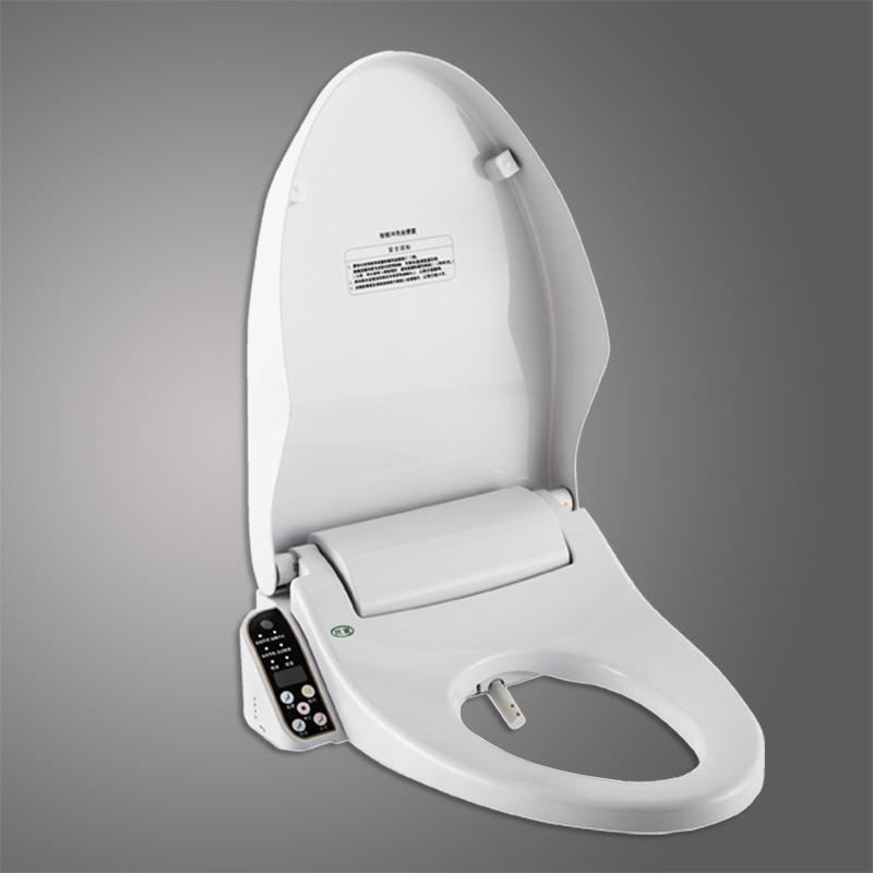 China Abs Luxury Automatic Open Close Smart Toilet Seat Bidet