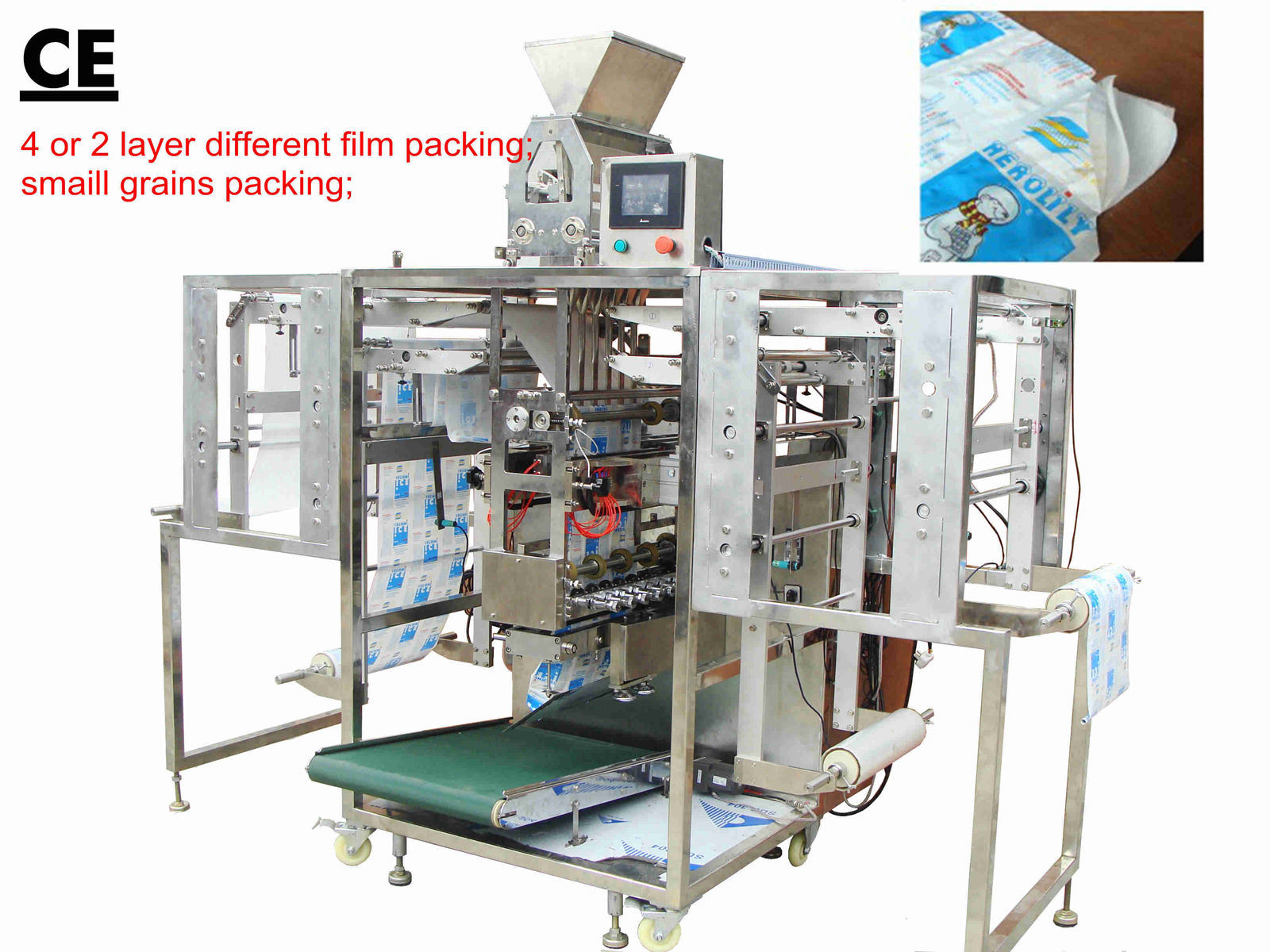 Automatic Multi-Layer Different Film Grain Packing Machine