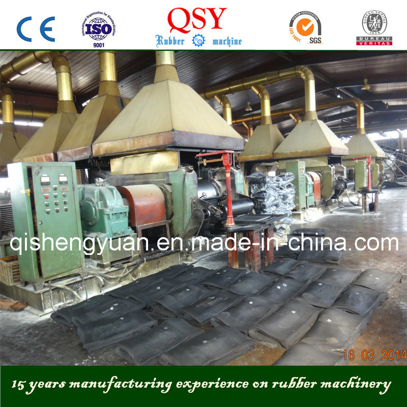 Rubber Refiner & Rubber Refining Machine for Reclaimed Rubber Sheet