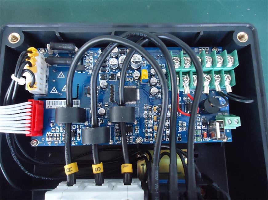 China Water Pump Control Box, Digital Voltmeter & Ampere Meter Real ...