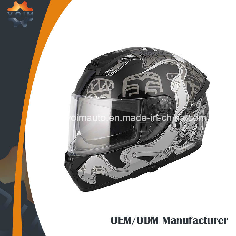 Cool Full Face Motorcycle Helmets >> Hot Item Cool Style Motorcycle Helmets Double Visor With High Quality Full Face Helmets