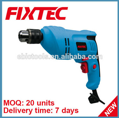 Fixtec Power Tool 500W Hand Electric Drill Machine Electric Tool