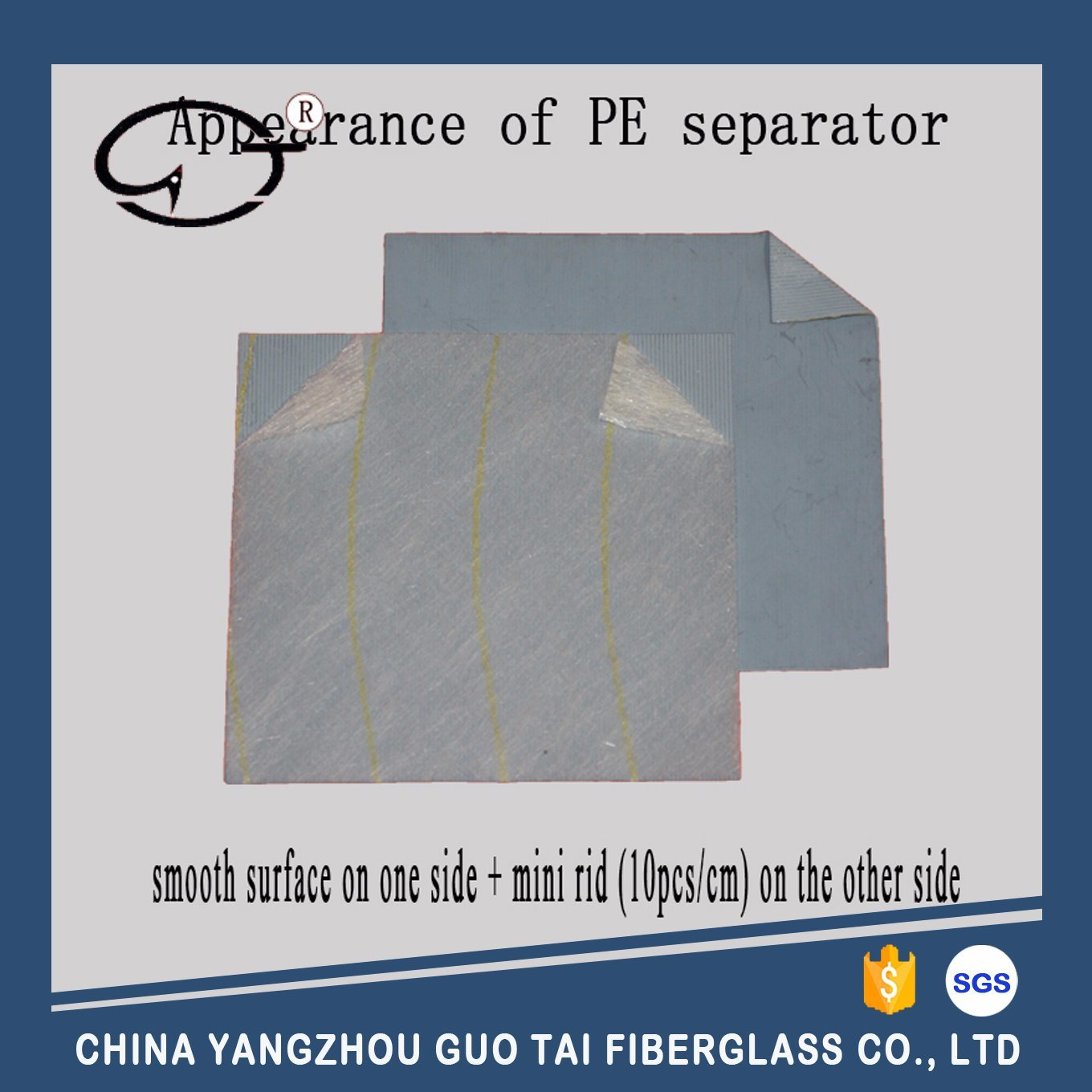 PE Separator in Slice for Lead-Acid Battery pictures & photos