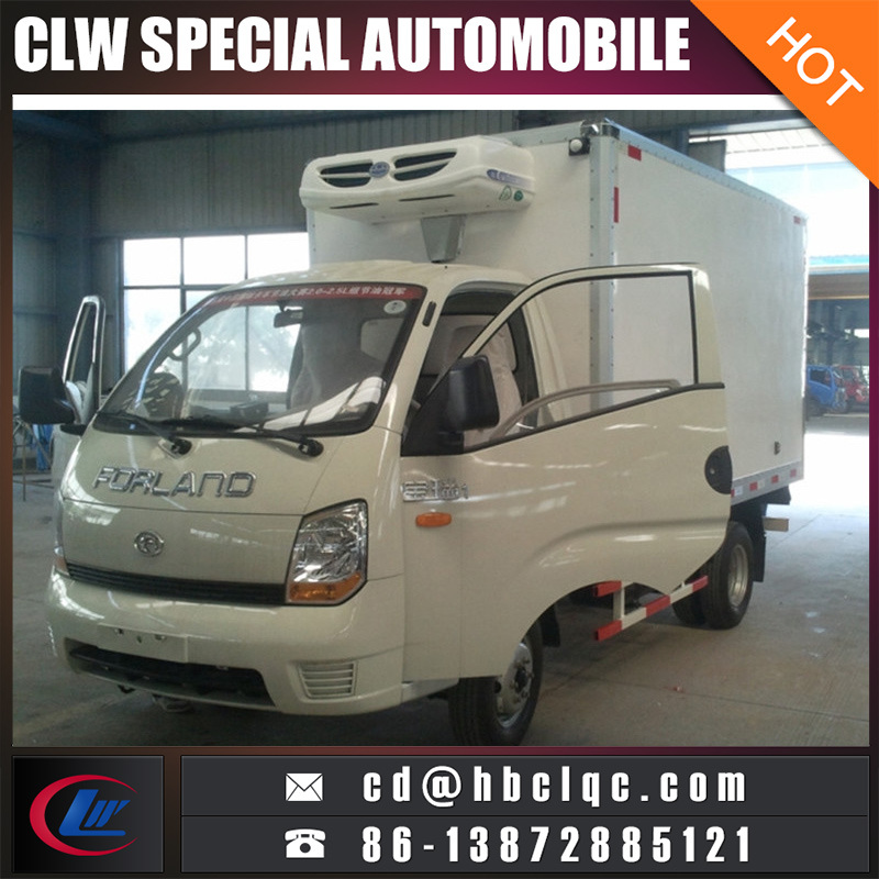 China Low Price Mini Capacity Meat Transport Refrigerated Truck Body pictures & photos