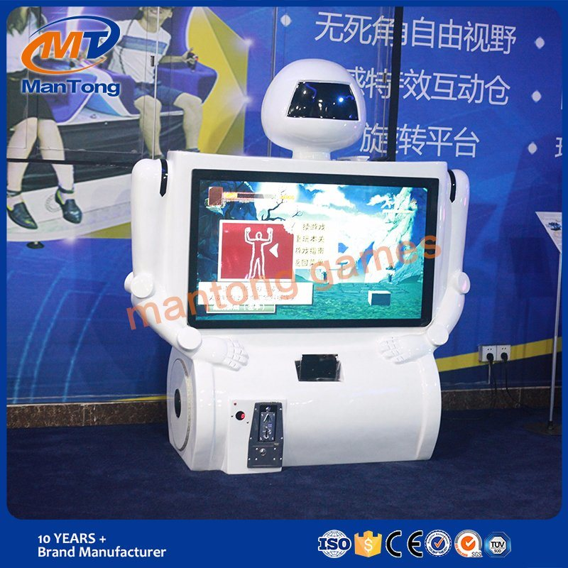 Interactive Motion Standing Virtual Reality Games Kungku Robot