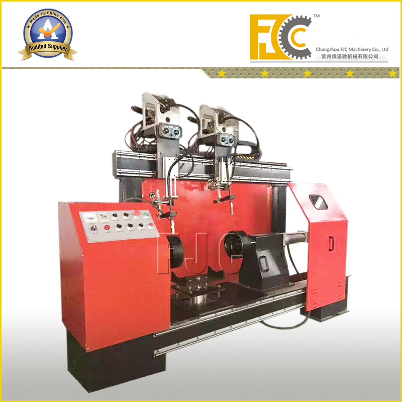Cylindrical Stainless Steel Tank Welding Machine pictures & photos