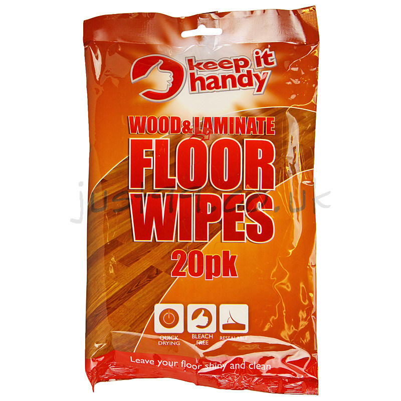 Wood And Laminate Floor Wipes