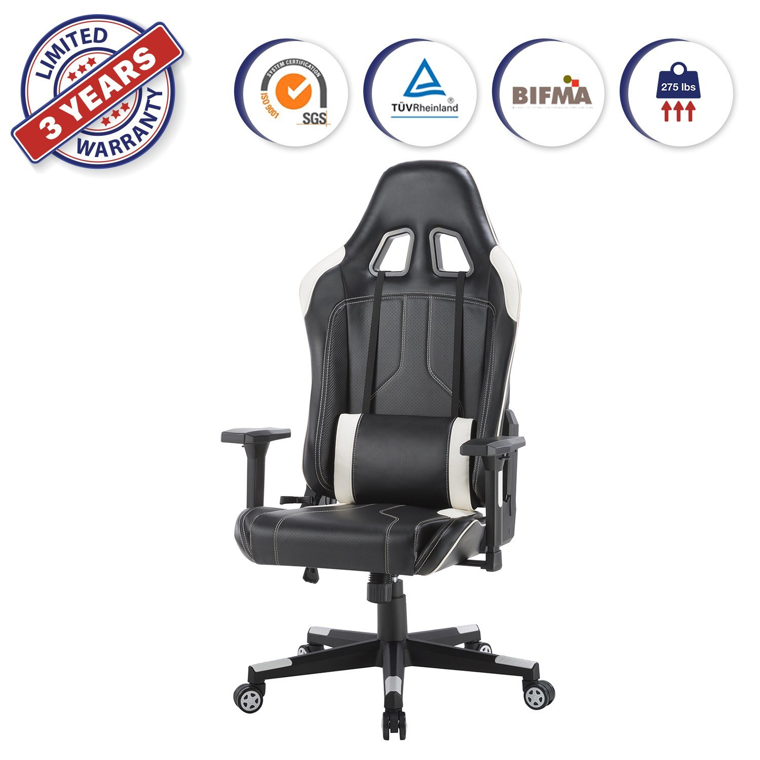 China High Back Adjustable Pu Leather Ergonomic Racing Gaming Chair Swivel Chairs For Home Office Computer Seat Recliner Yolo China Gaming Chair Pu Leather Chair