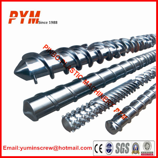 Low Price Screw and Barrel for Plastic Extruder Machine pictures & photos