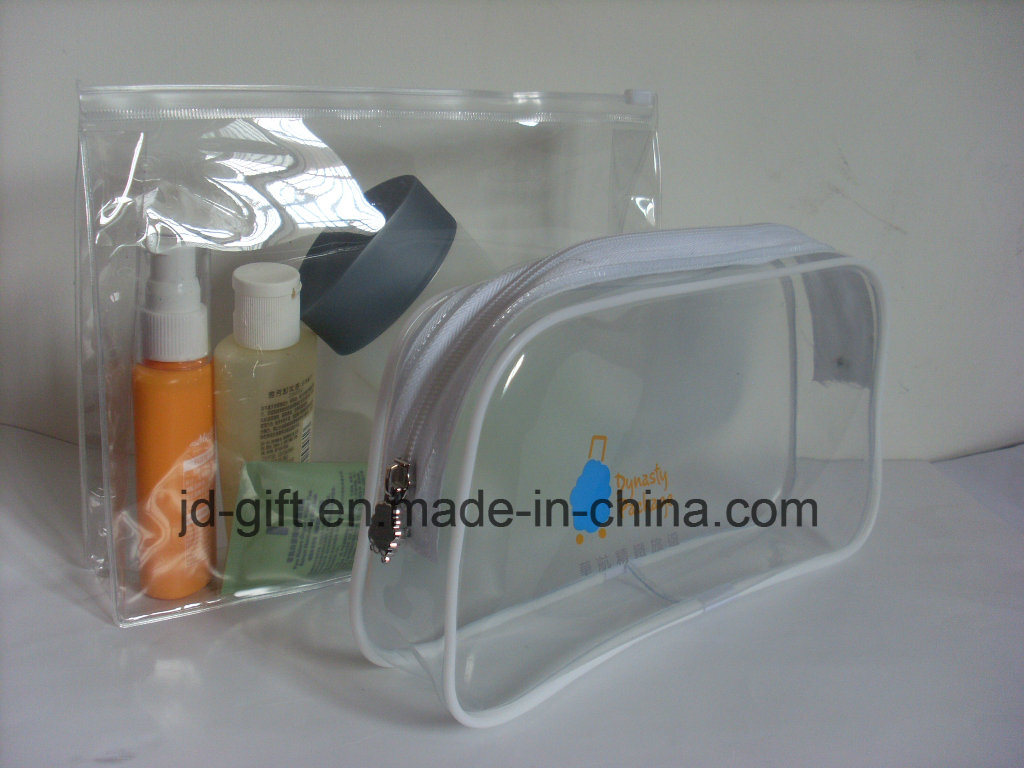 Clear Customized PVC Cosmetic Package Bag