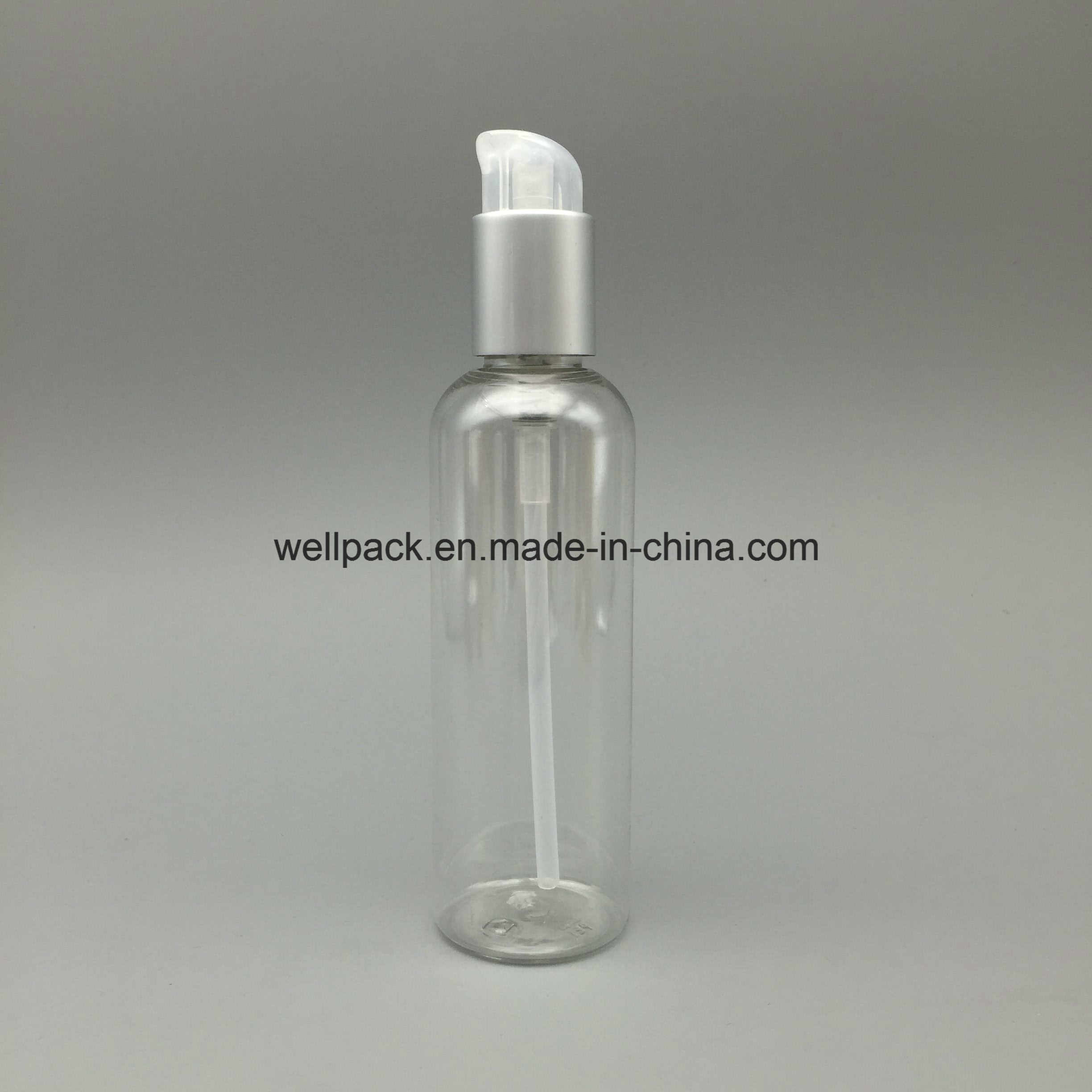 200ml Clear Plastic Pet Bottle with Mist Sprayer