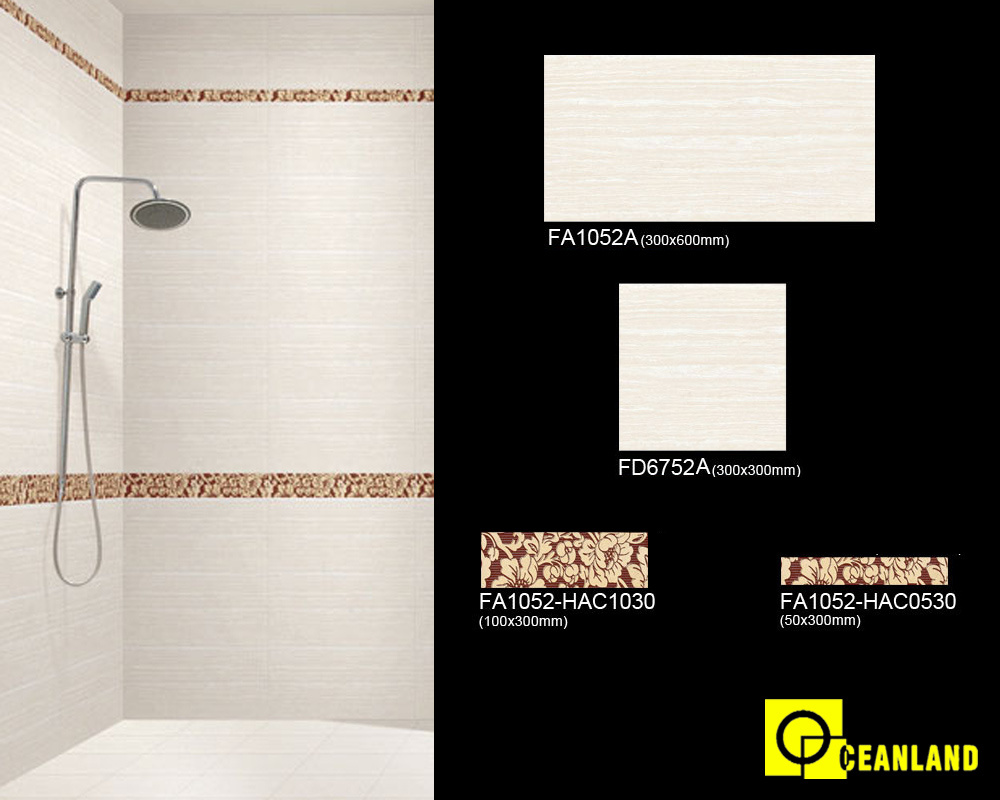 China Polished Glazed Porcelain Tile Manufacturer, Ceramic Bathroom ...