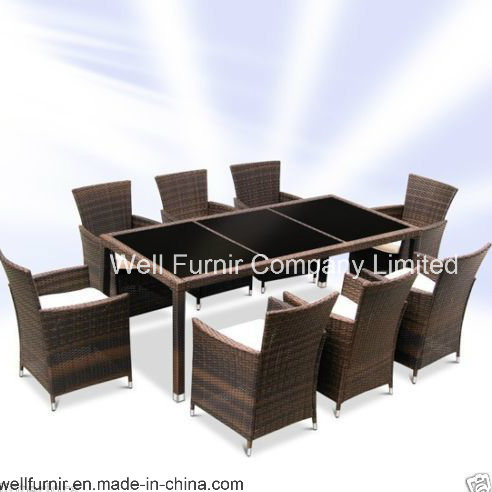 Uk Rattan Wicker Furniture 9 Pc Dining Set Wf 15164