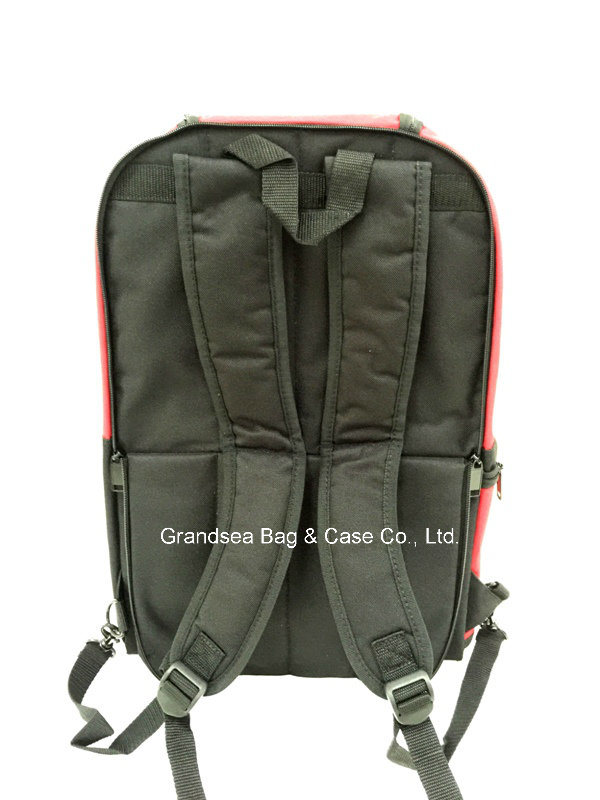 High Quality Drawbar Trolley Backpack Multi Function Wheeled Trolley Bag (GB#10007)