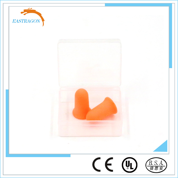 Protective Popular PU Foam Soundproof Earplugs pictures & photos