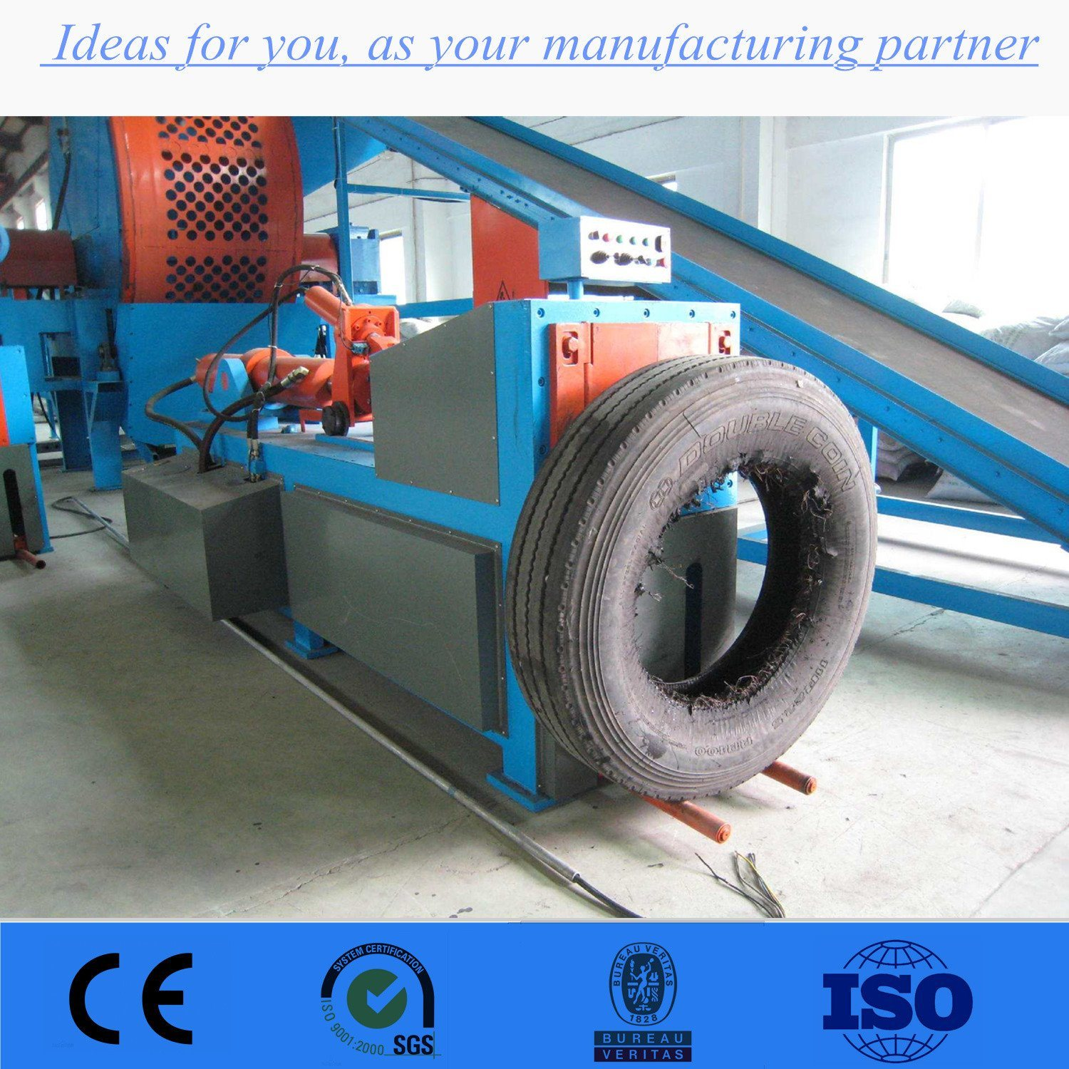 China Steel Wire Puller/ Tire Steel Removing Machine Photos ...