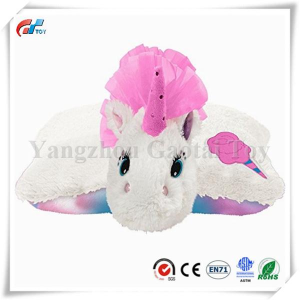 China Jumbo Cotton Candy Scented Unicorn Stuffed Animal Plush Toy